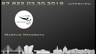 Markus Heckrath told how he started play underwater rugby