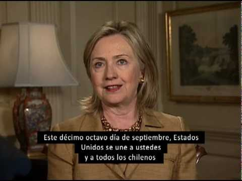 Secretary Clinton Delivers a Message on Chile's Independence Day [Spanish Subtitles]