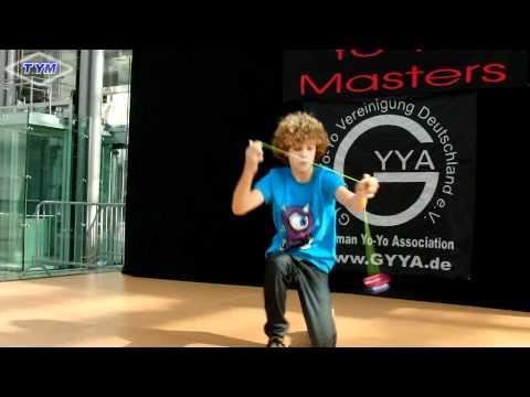 13. German Yo-Yo Masters 2010 - Master Class 1. Place Carlos