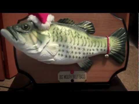 ***BIG MOUTH BILLY BASS*** (Singing Christmas Fish II)