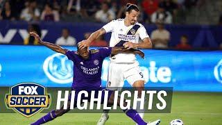 LA Galaxy vs. Orlando City | 2018 MLS Highlights