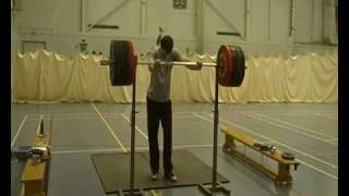 Epic Fail 160 Kg Back Squat @ 72 Kg (17 yrs old - very old)