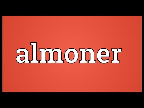 Header of almoner