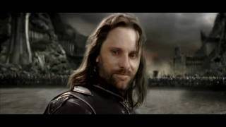"LOTR El Retorno del Rey ""Into of the westh"" Cancion original"