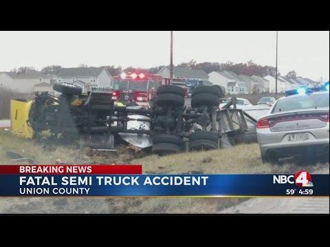Fatal semi truck accident