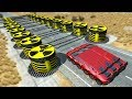 Beamng drive - Lowering Giant Chains crashes