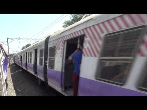 OVERTAKING INDORE DURONTO EXP WITH COOL AMUL AD BRC WAP-5# 30051...