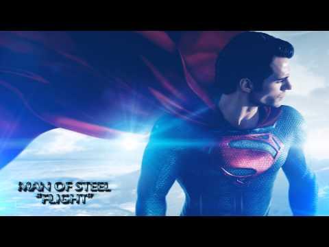 "Man of Steel - Movie Soundtrack - ""Flight"" [HD]"