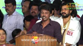 Sarathkumar Team Candidates Introduction Meet Part 1