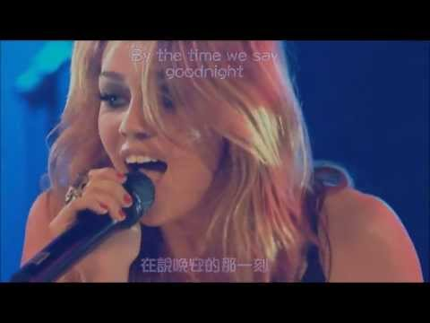 [Live上字] 麥利希拉Miley Cyrus - 誰擁有我的心Who Owns My Heart (Live上字)