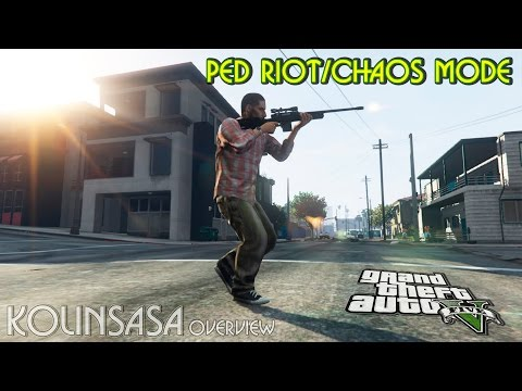 Ped Riot (a Riot of the citizens of Los Santos)
