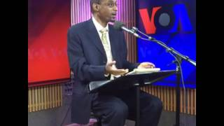 VOA Amharic Interview with Junedin Sado