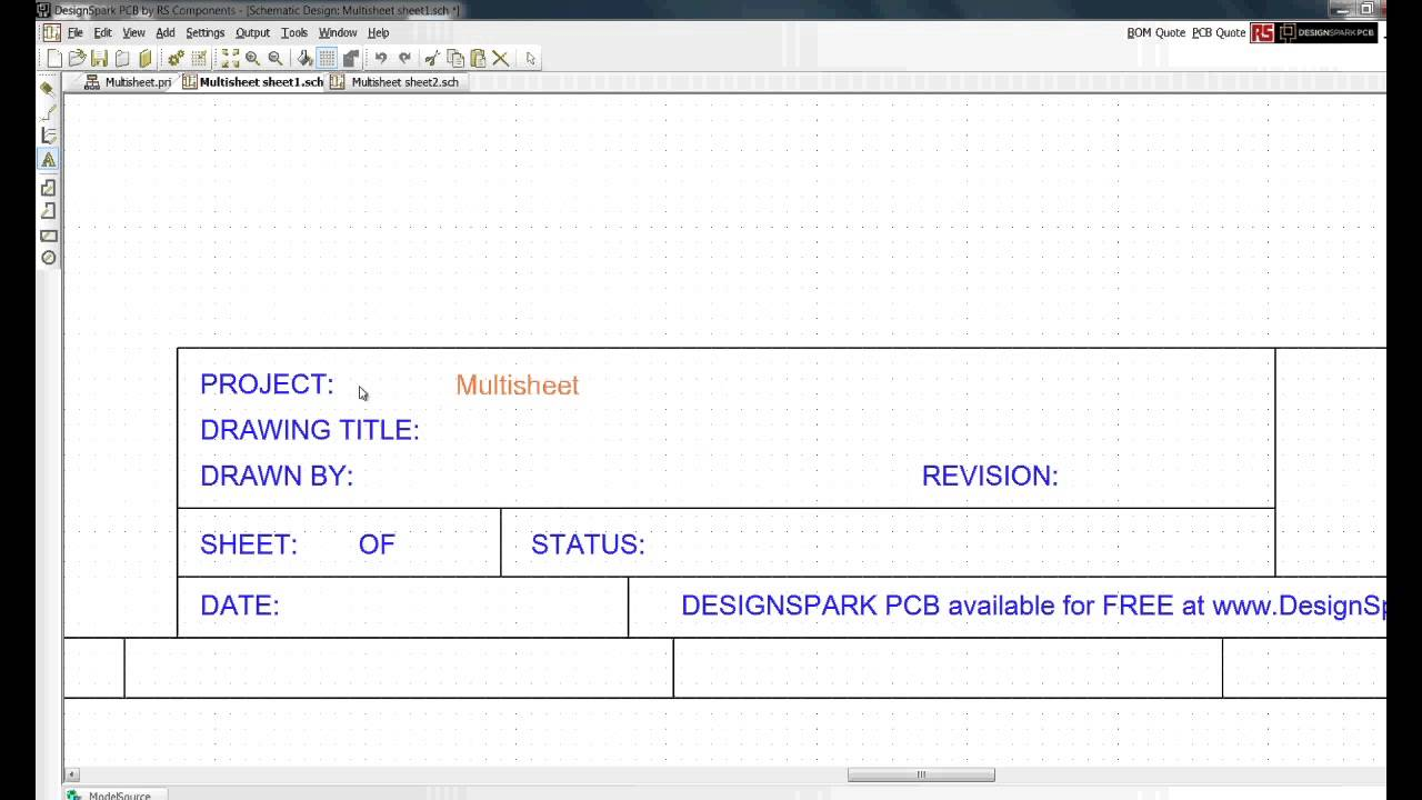 Designspark Pcb  Tutorial  Setting Up A Project And