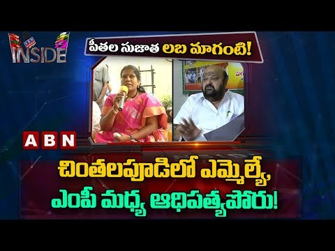 Clashes between Chintalapudi MLA Sujatha and MP Maganti Babu | Inside
