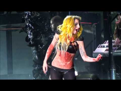 HD/HQ - Lady Gaga ALEJANDRO LIVE Boardwalk Hall Atlantic City NJ 19 February 2011