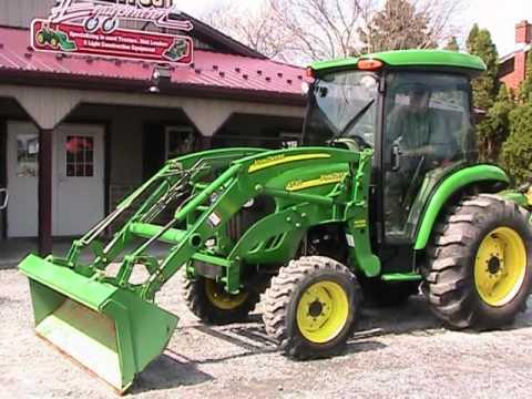 John Deere 4720 Hst Tractor 400x Loader 191hrs C H A Youtube