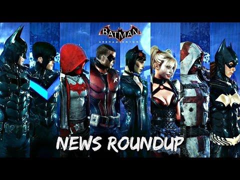 Batman Arkham Knight: Character Select, No Dark Knight Skin (News Roundup)