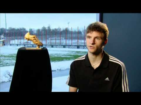 Thomas Müller   adidas Golden Boot Award Winner