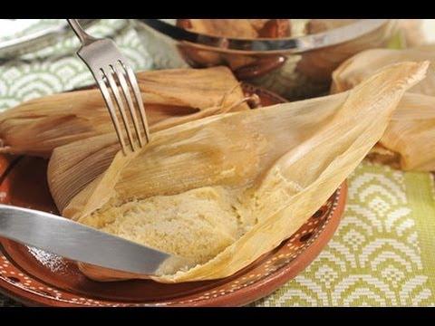 Tamales de elote - Corn Tamales