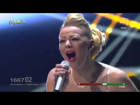 "Mia ""take A Look At Me Now  Lithuania In The Eurovision Song Contest 2014 video"