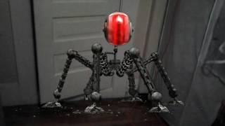 This robot destroy my house