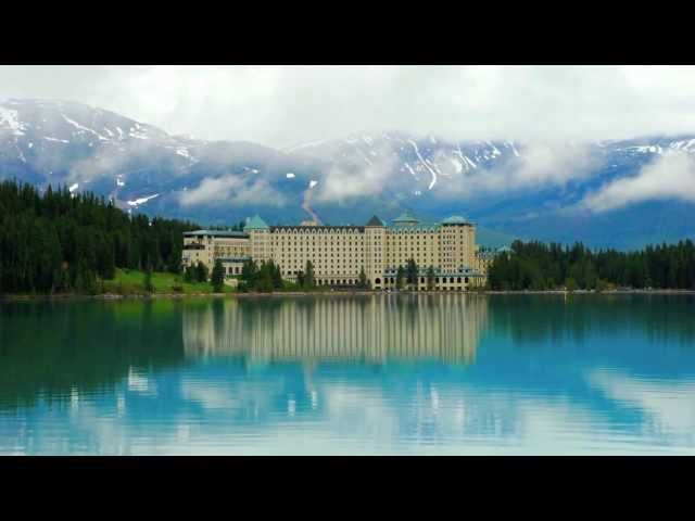 Fairmont Chateau Lake Louise in the Canadian Rockies