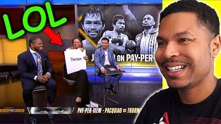 Manny Pacquiao  Freestyles with rapper Harry Mack | Reaction