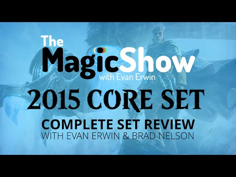 Magic the Gathering Core Set 2015 Complete Set Review - Blue