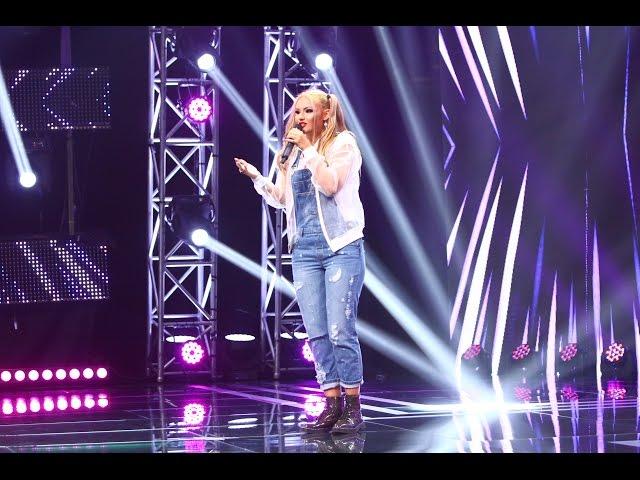 Sia - Cheap Thrills. Vezi aici cum cântă Alexandra Tănăsoiu la X Factor!