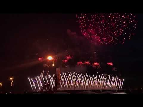 Петербург отметил праздник «Алые Паруса» вместе с гостями чемпионата мира