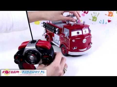 Red Fire Engine / Straż Pożarna - Radio Control - Cars 2 / Auta 2 - Dickie - 3089549