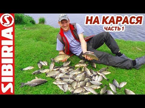 рыбалка на ютубе ловля карася