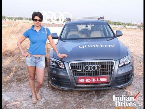 Gul Panag Launches Audi Q Life At Women's Power Drive In Mumbai video