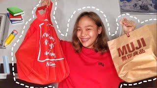 BACK TO SCHOOL HAUL 2018 + SHOPPING VLOG (Philippines)