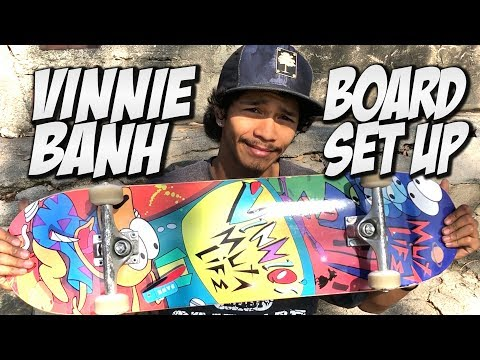 VINNIE BANH BOARD SET UP & INTERVIEW !!!