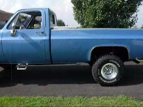 1986 Chevy K10 4x4 Youtube