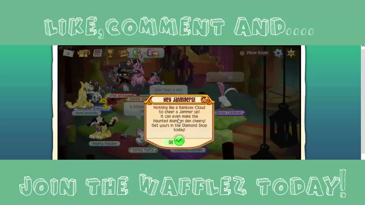 Animal Jam Where Is Pillow Room : Animal Jam Life In The : Pillow Room - YouTube