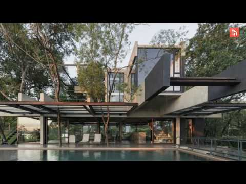 Industrial House Seamlessly Blend Into Forests of Paraguay