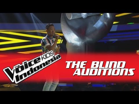 "Bintang ""Sewindu"" I The Blind Auditions I The Voice Kids Indonesia GlobalTV 2016"