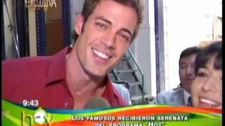 william cantando por el dia de san valentin