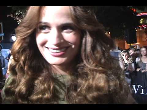 Elizabeth Reaser at the LA Twilight Premiere Video