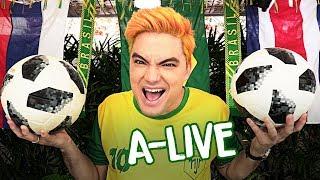 A-LIVE DA COPA - CONVOCAÇÃO