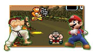 Super Mario Kart + Street Fighter = Hyper Street Kart