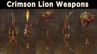 Crimson Lion Weapon Preview ► Guild Wars 2