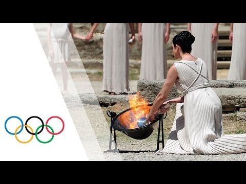 Rio 2016 | HD Replay - Lighting Ceremony of the Olympic Flame from Olympia, Greece