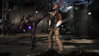 Mortal Kombat X - All Characters Performed Johnny Cage