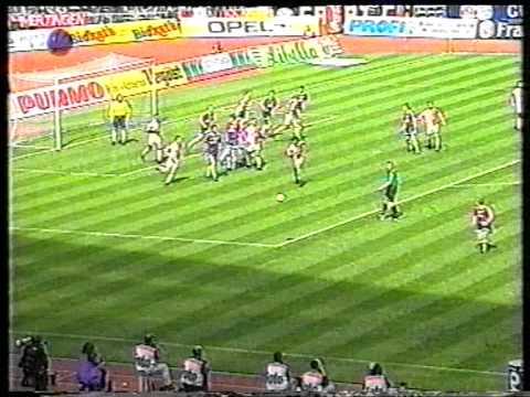 RAN Sat.1 FC Bayern München - SC Freiburg 1996/ 97 Jürgen Klinsmann Ausraster