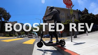 Boosted Rev Electric Scooter Review | Honest thoughts and ride footage
