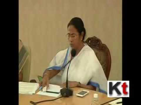 Mamata Banerjee in meeting with her health department