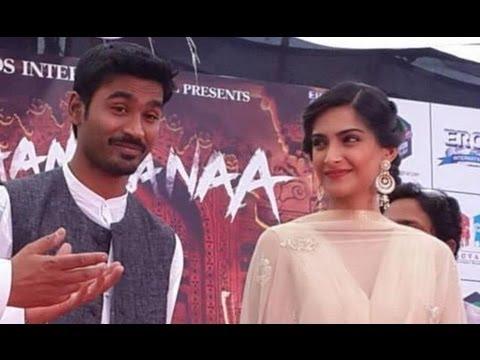 Sonam Kapoor & Dhanush Visit Jaipur To Promote 'Raanjhanaa'